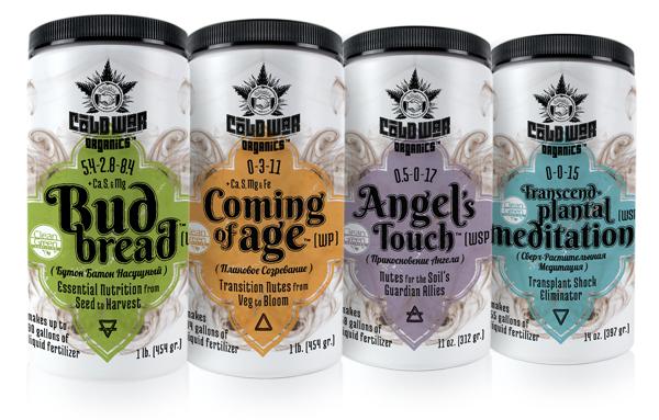 Cold War Organics product line